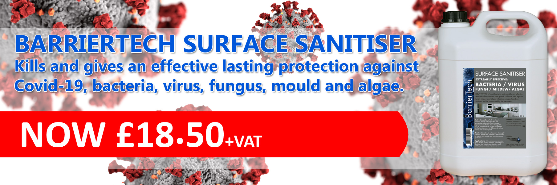 BarrierTech surface sanitiser